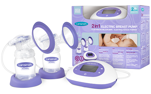 Packaging of the 2in1 Double Electric Breast Pump