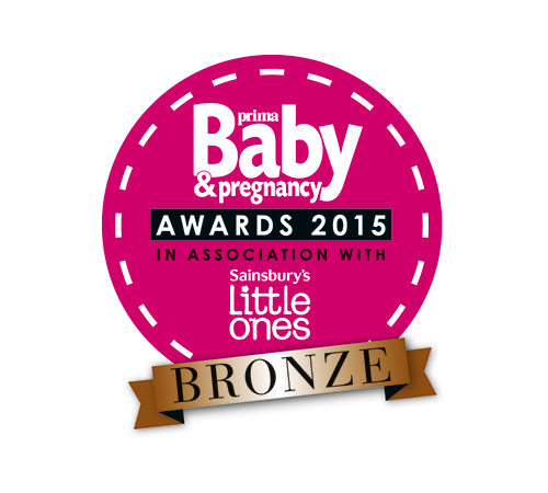 Winner of the Prima Baby & Pregnancy Award