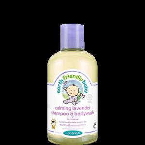 Lansinoh EFB zjemňujúci detský šampón a telové mydlo levanduľa