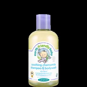 Lansinoh EFB zvláčňujúci detský šampón a telové mydlo kamilka