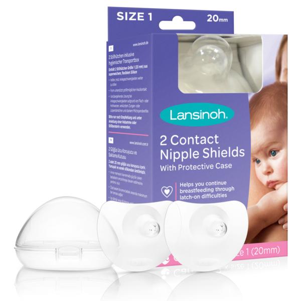 chránič bradaviek alebo klobúčik pre pomoc s dojčením