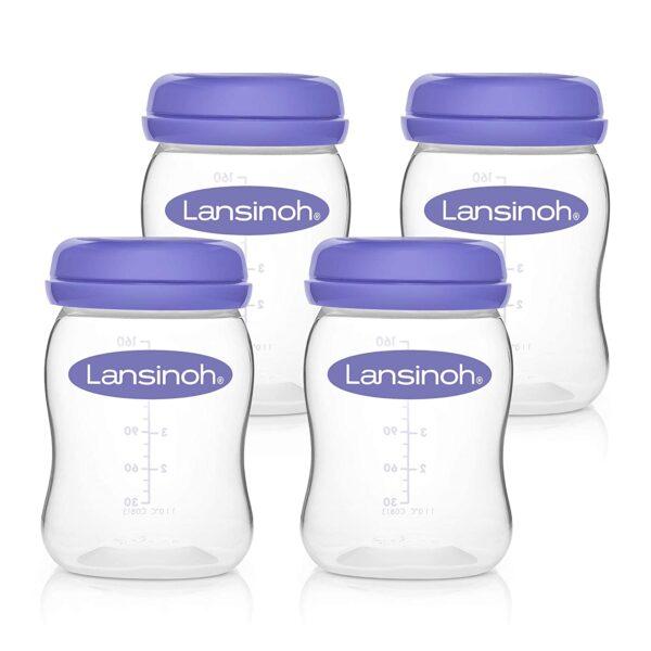 Lansinoh Fľaše na skladovanie materského mlieka