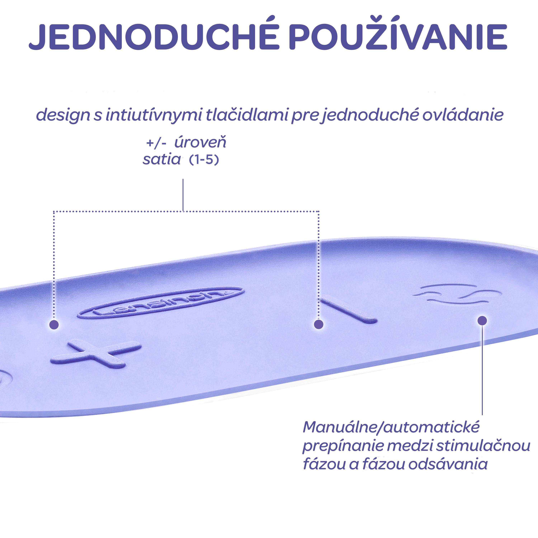 Lansinoh Kompaktná single elektrická odsávačka