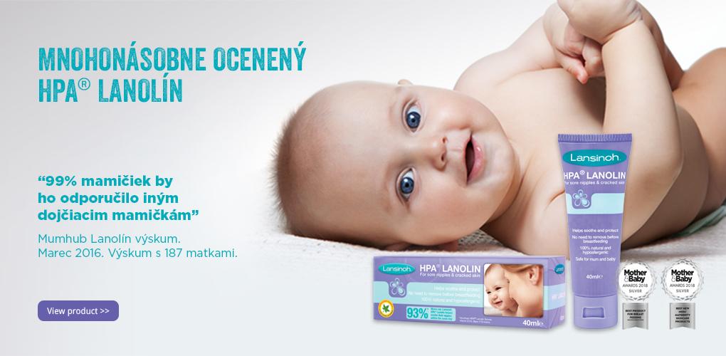 HPA Lanolín - mnohokrát ocenený produkt