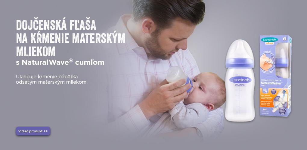 Lansinoh fľaša na kŕmenie dojčenským mliekom