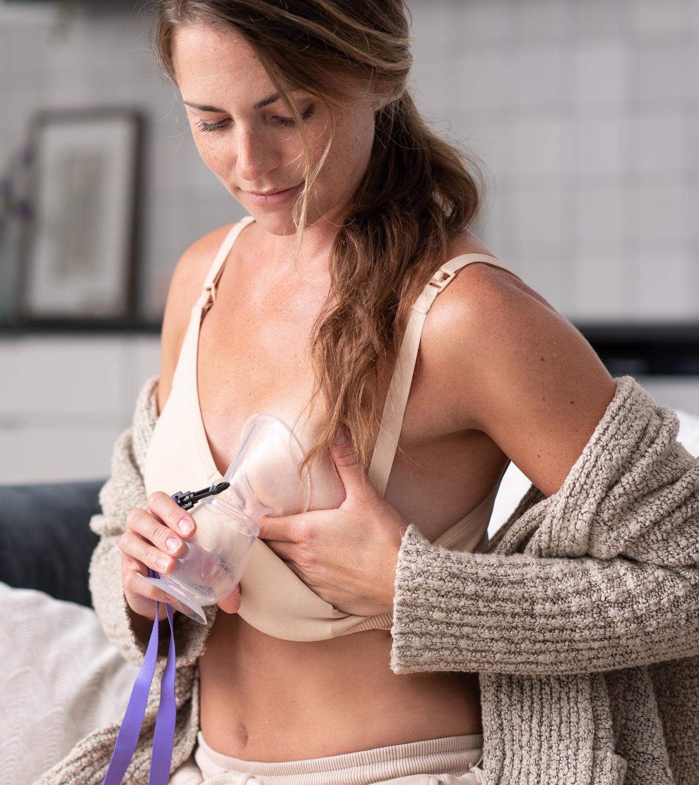 Lansinoh Silikónová odsávačka -kolektor materského mlieka