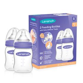 Dojčenské fľaše s NaturalWave cumľom